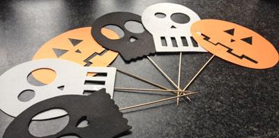 Halloween masker maken knippie for Halloween versiering maken