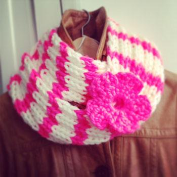 Klaar voor de herfst: je eigen sjaal breien
