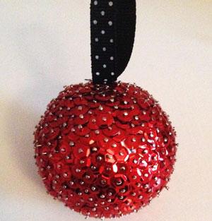 DIY kerstbal maken