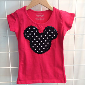 DIY Mickey Mouse shirtje