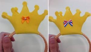 Kroon met accessoire