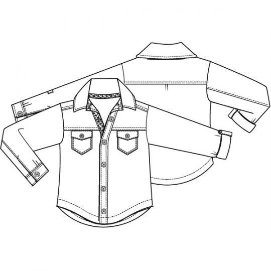 Overhemd (Print)-788601