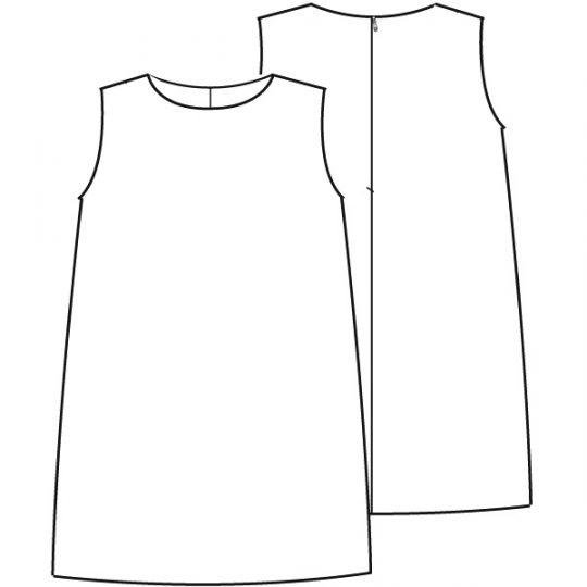 Voile jurkje (Print)-790593