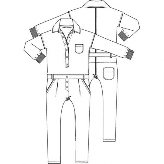 Jumpsuit (Print)-790235