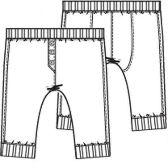 Smal model broek (Post patroon)-793366