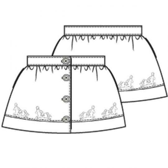 Satijnen rokje (Post patroon)-788994
