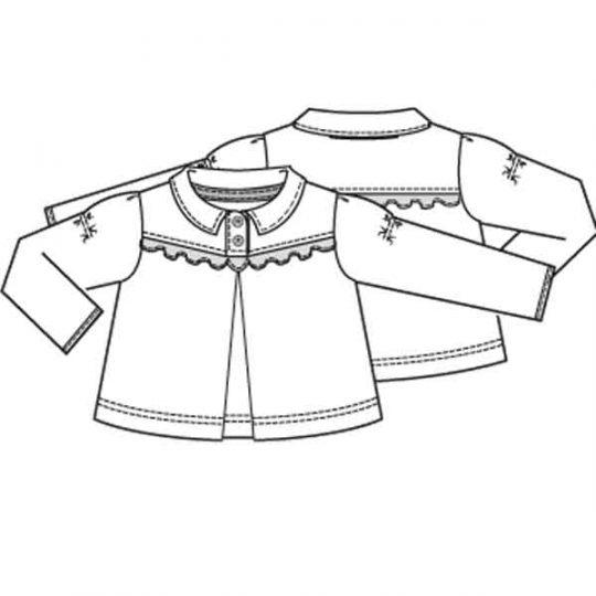 Jurk blouse en top in één (Post patroon)-788644