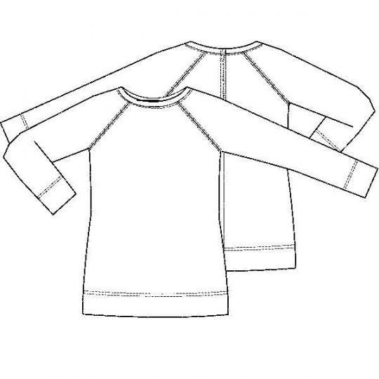 Lange sweater (Post-patroon)-789885