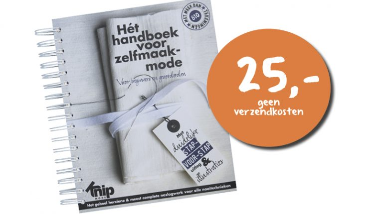Nieuw: Hét handboek voor zelfmaakmode