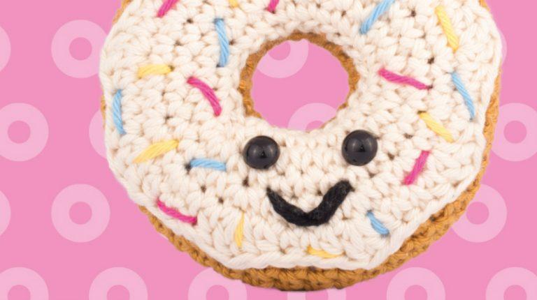 Kawaii Haken Gratis Donut Patroon Knippie
