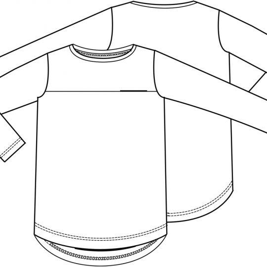 T-shirt (post patroon)-790739
