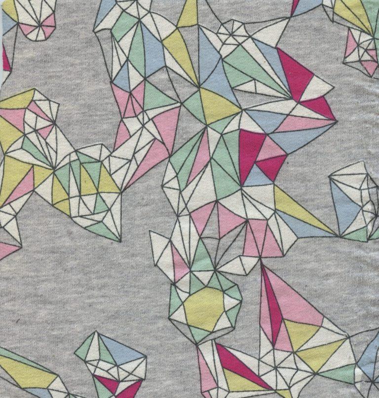 Knippie stof: Grafische diamanten