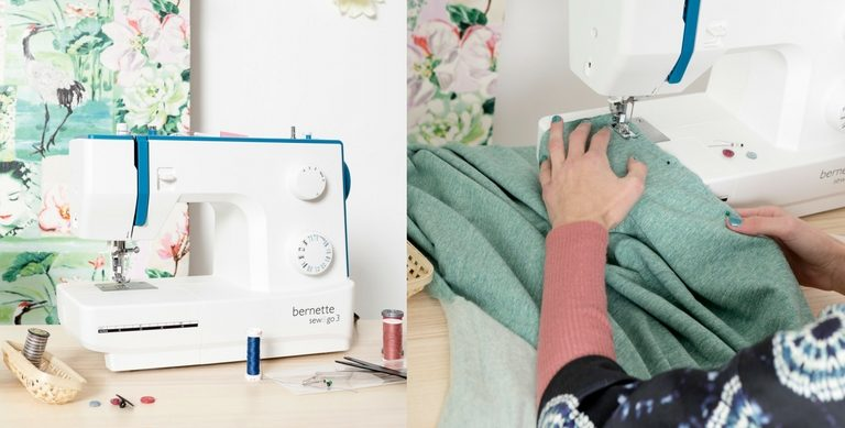 Naaimachine aanbieding: Bernette Sew&Go 3
