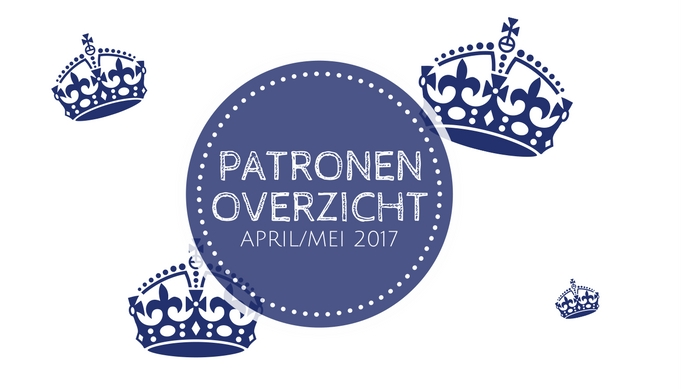 Patronenoverzicht Knippie 2 – april/mei 2017