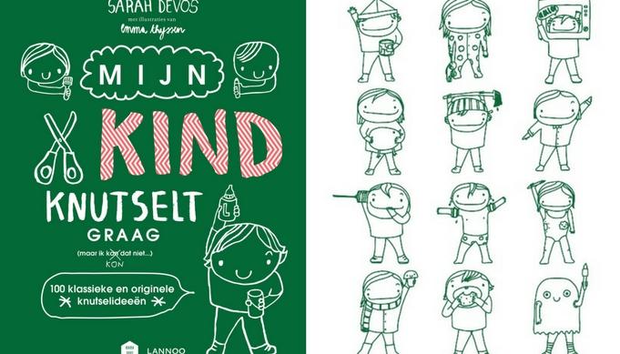 WIN! Knutselboek: Mijn kind knutselt graag