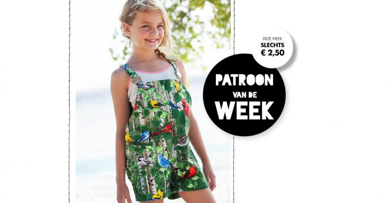 Patroon van de week | Salopetteshort