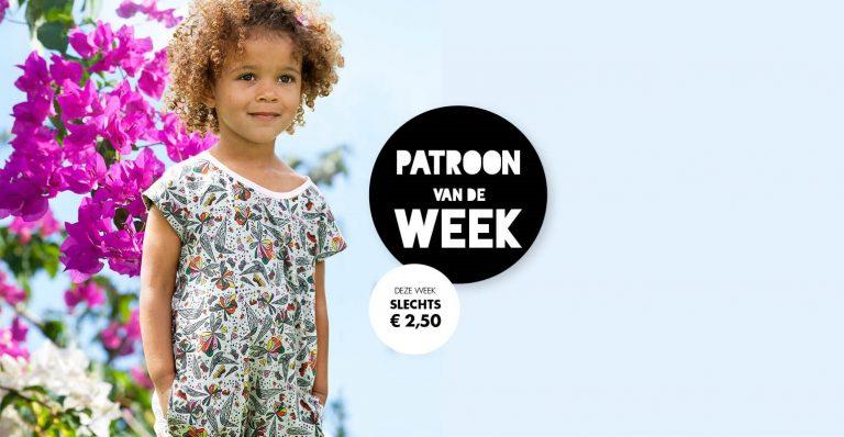 Patroon van de week | Onesie