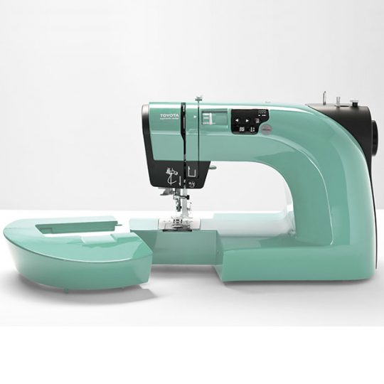 Machine with removed extension arm