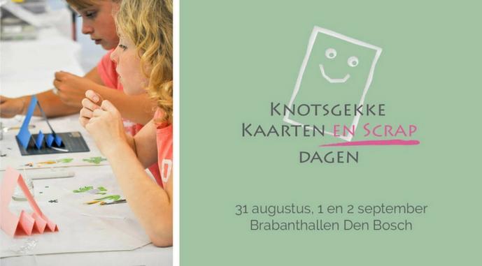UITTIP | Knotsgekke Kaarten- en Scrapdagen