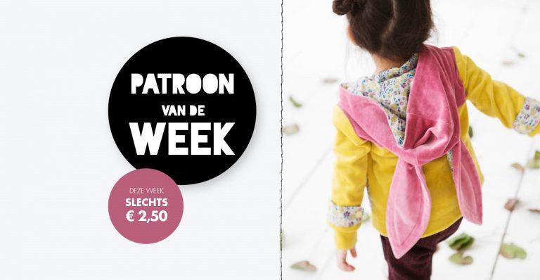 Patroon van de week | Jasje met konijnenoren