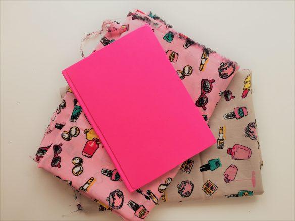 dagboek maken boekje en stof