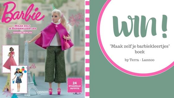 """WIN! """"Maak zelf je barbiekleertjes"""" boek"""