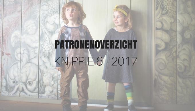 Patronenoverzicht KNIPPIE 6 | December 2017/Januari 2018