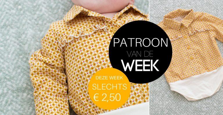 Patroon van de week | Blouseromper