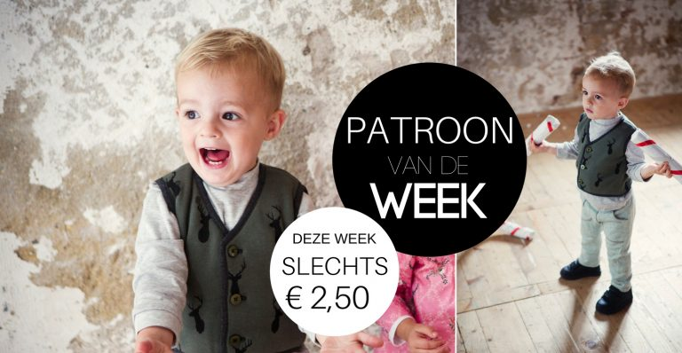 Patroon van de week | Gilet