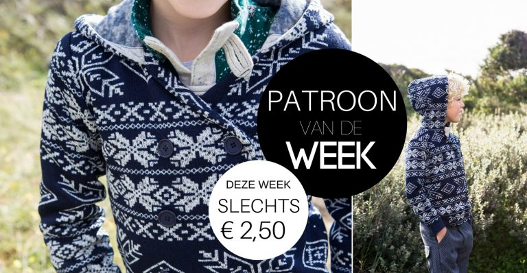 Patroon van de week | Vest