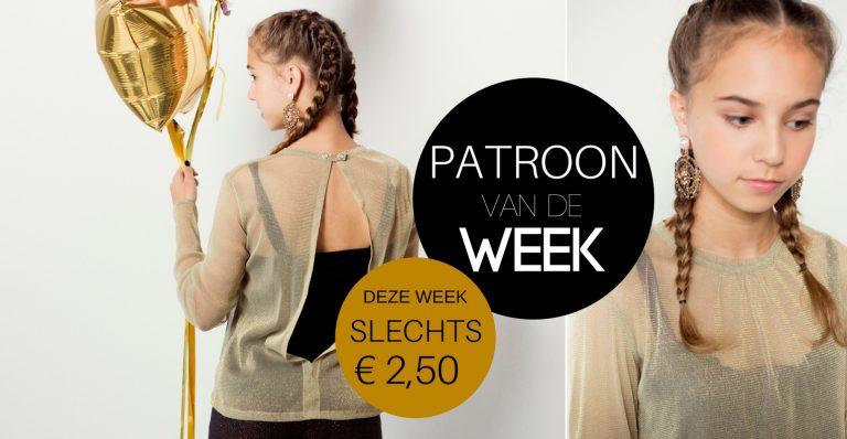Patroon van de week | T-shirt