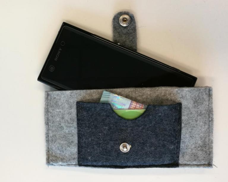 DIY | Snel maken voor Vaderdag, een hoesje voor zijn mobiel!