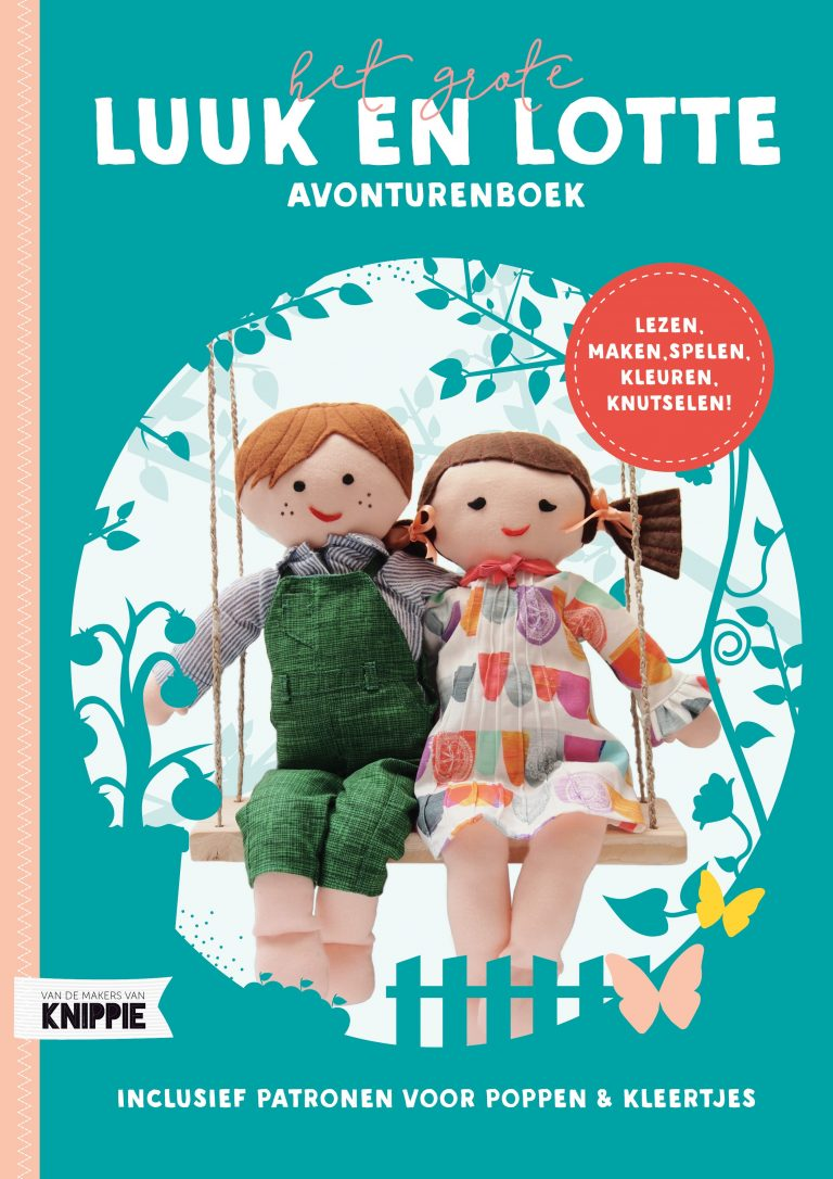 Het grote Luuk en Lotte avonturenboek NU in de winkel!
