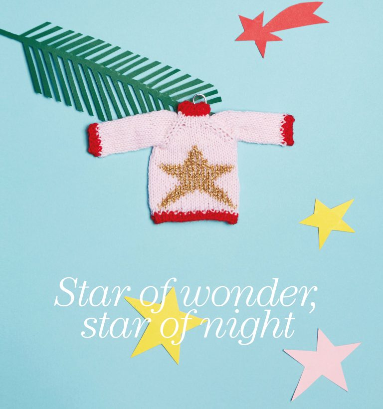 Kleine kersttruien breien!